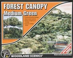 Woodland Forest Canopy Medium Green Model Railroad Tree #f1661