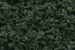 Woodland Underbrush Clump Foliage Dark Green Model Railroad Grass Earth #fc137