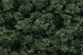 Woodland Bushes Clump Foliage Medium Green Model Railroad Grass Earth #fc146