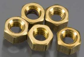 Woodland Hex Nuts 1-72 (5) (Bulk of 3) Model Railroad Scratch Supply #h883