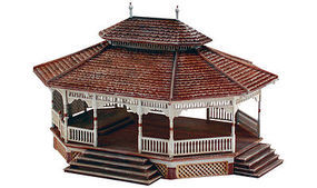 Woodland Public Pavilion HO Scale HO Scale Model Railroad Building #pf5189