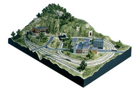 Town Amp Factory Set N Scale N Scale Model Railroad Building