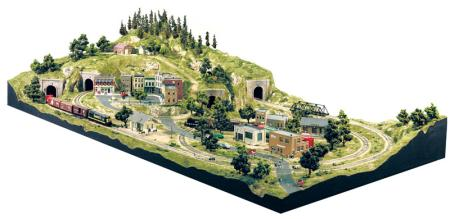 Woodland Scenics City/Industry Building Set HO Scale -- Model Railroad Scenery Supply -- #s1486