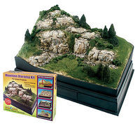 Woodland Scene-A-Rama Mountain Diorama Kit