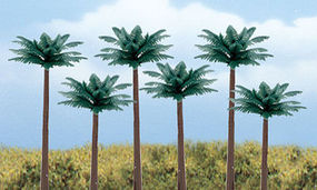 Woodland Scene-A-Rama Ready Made Palm Trees (6/pk)