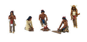 Woodland Scene Setters Native Americans Clamshell Pkg
