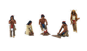Woodland Scene Setters Native Americans Bagged