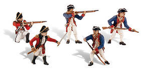Woodland Scene-A-Rama Revolutionary War Soldiers