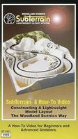 Woodland Sub Terrain How-To VHS Hobby Model DVD Video Tape General #st1401