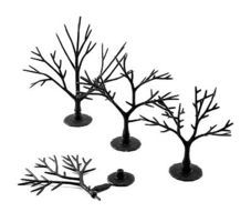 Woodland Deciduous Tree Armatures 2 - 3 (57) Model Railroad Tree #tr1121