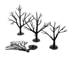 Woodland Deciduous Tree Armatures 3- 5 (28) Model Railroad Tree #tr1122