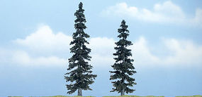 Woodland Ready Made Premium Trees Spruce 1 Each - 4-7/8 & 4 Model Railroad Tree #tr1621