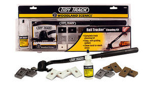 Woodland Tidy Track Rail Tracker Cleaning Kit HO Scale Nickel Silver Model Train Track #tt4550
