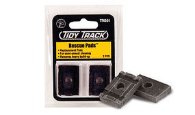 Woodland Tidy Track Rescue Pads HO Scale Nickel Silver Model Train Track #tt4551