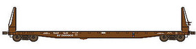 WheelsOfTime F-70-43 Bulkhead Flatcar Southern Pacific #509124 HO Scale Model Train Freight Car #40012