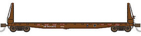 WheelsOfTime 536 Welded Fish Belly Bulkhead Flatcar SP 508203 N Scale Model Train Freight Car #50017
