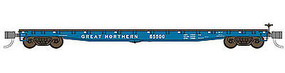 WheelsOfTime 536 General Service Fish Belly Flatcar Great Northern N Scale Model Train Freight Car #50045