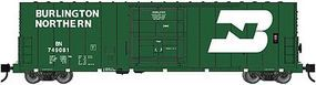WheelsOfTime PC&F 50 70-Ton RBL Insulated Plug-Door Boxcar BN N Scale Model Train Freight Car #61000