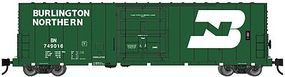 WheelsOfTime PC&F 50 70-Ton RBL Insulated Plug-Door Boxcar BN N Scale Model Train Freight Car #61005