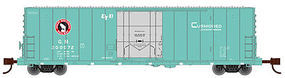 WheelsOfTime 50 70 Ton Boxcar Great Northern #200034 N Scale Model Train Freight Car #61073