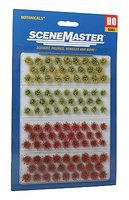 Walthers-Acc Blooming Flowers Botanicals(TM) 105 Pack HO Scale Model Railroad Grass Earth #1105