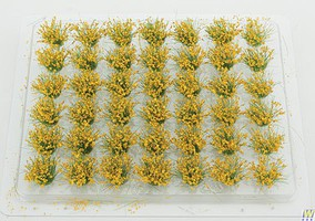 Walthers-Acc Grass Tufts - Blooming Flowers - pkg(42) Each; 1/4 .06cm