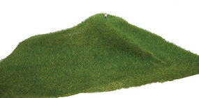 Walthers-Acc Tear and Plant Grass Mats Light Green Long Model Railroad Grass Mat #1123