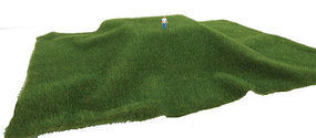 Walthers-Acc Grass Mat Dark Grn Short