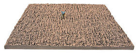 Walthers-Acc Field Mat 8-5/8 x 7-7/8  22 x 20cm Plowed Field