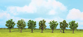 Walthers-Acc Fruit Trees 7 Pack HO Scale Model Railroad Tree #1162