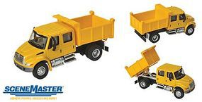 Walthers-Acc Intl 4300 Dump Truck Ylw - HO-Scale