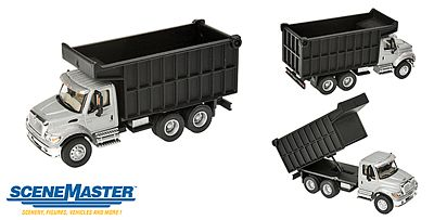 Walthers Accessories Intl 7600 2-Axl Cl Sl/Bk - HO-Scale