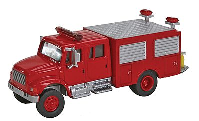 Walthers Accessories Intl 4900 1st Rspns Fire - HO-Scale