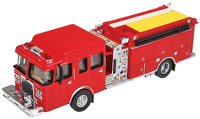 Walthers Accessories Heavy-Duty Fire Engine - HO-Scale