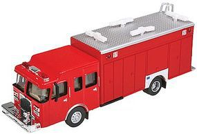 Walthers-Acc Haz-Mat Fire Truck - HO-Scale