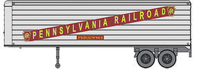 Walthers-Acc 32 Trailer 2-Pack - Assembled Pennsylvania Railroad