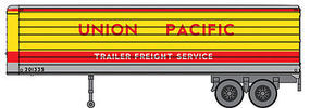 Walthers-Acc 35 Trailer 2-Pack - Assembled Union Pacific(R)