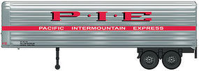 Walthers-Acc 35 Fluted-Side Trailer 2-Pack - Assembled Pacific Intermountain Express