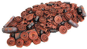 Walthers-Acc Railroad Scrap Pile (1-Piece Casting) HO Scale Model Railroad Scenery Accessory #3005