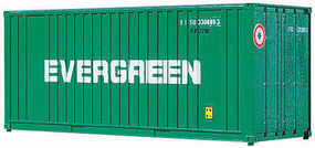 Walthers-Acc 20 Container Evergreen HO Scale Model Train Freight Car Load #8002