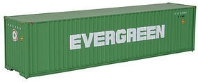 Walthers-Acc 40 HC Container Evergreen HO Scale Model Train Freight Car Load #8202