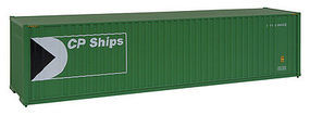 Walthers-Acc 40 HC Container CP Ships HO Scale Model Train Freight Car Load #8206