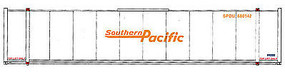 Walthers-Acc 48 Stoughton Ribside Container Southern Pacific HO Scale Model Train Freight Car Load #8466