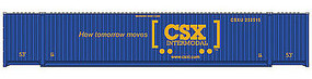 Walthers-Acc 53 Container CSX HO Scale Model Train Freight Car Load #8502