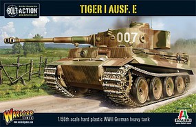 Warload-Games 28mm Bolt Action- WWII Tiger I Ausf E German Heavy Tank (Plastic)