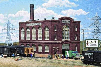 Walthers Northern Light & Power Powerhouse - Kit -- HO Scale Model Railroad Building -- #3021