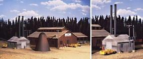 Walthers Mountain Lumber Company Sawmill Kit HO Scale Model Railroad Building #3058