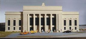 Walthers Union Station - Kit - 19-3/4 x 8-1/4 x 7 HO Scale Model Railroad Building #3094