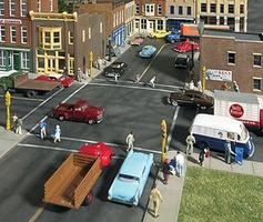 Walthers Asphalt Street System - Kit - Complete Set HO Scale Model Railroad Road Accessory #3194