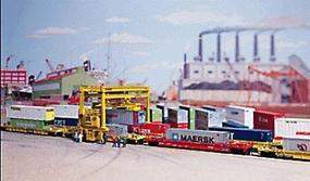 Walthers Mi-Jack Translift Intermodal Crane - Kit N Scale Model Railroad Building Accessory #3222